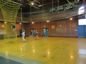 One of the campus gyms
