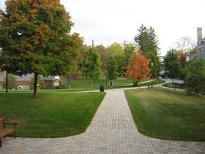 Blair academy walkway