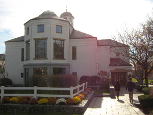 Main building on campus