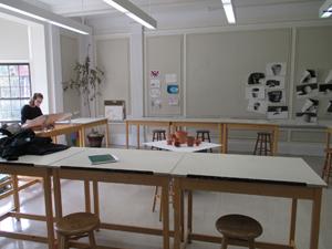 Arts classroom