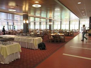 Canterbury dining hall