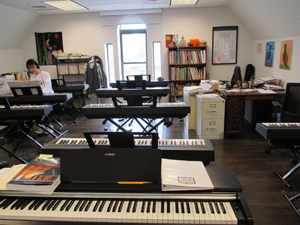 A music classroom