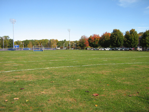 A view of the sports field