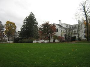 Campus quad space