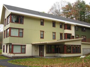 Student dorm house