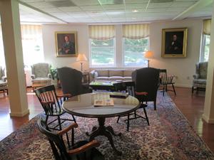 Admissions sitting area