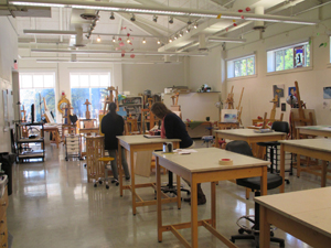 An arts classroom