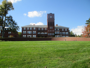 View of the main campus