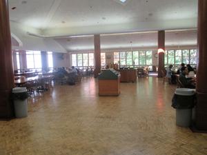 The school dining hall
