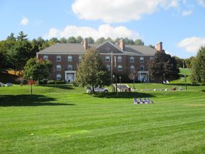 Cushing dorm building