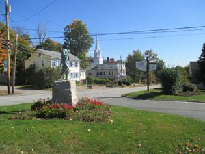 Cushing Academy entrance