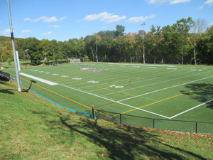 Cushing football field
