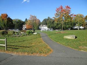 A campus sports field