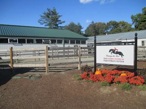 Stables entryway