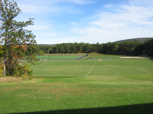 The campus sports field