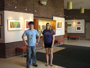 Our student tour guides