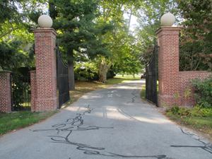Entrance to Groton