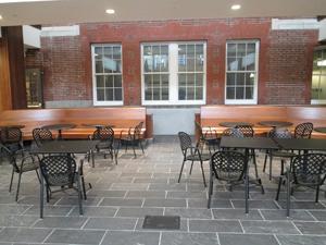 Student lounge area