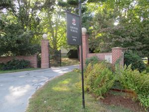 Groton School entrance