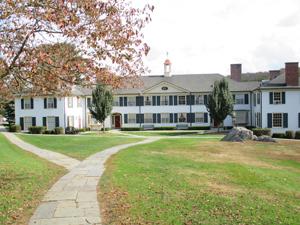 Campus dorm buildings