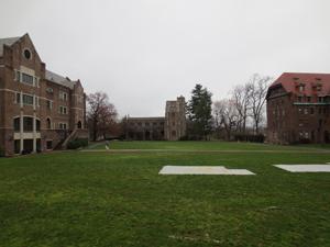 Main campus area