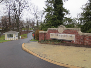 Hill School entrance