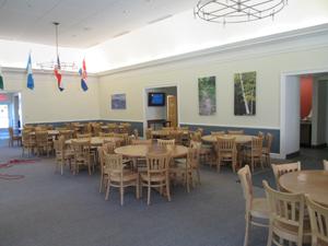 Holderness dining hall