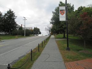 Kimball Academy sign