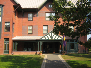 Lawrenceville dorm building