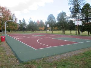 The MacDuffie basketball court