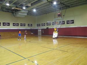 The campus gymnasium