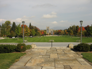 Overview of the campus