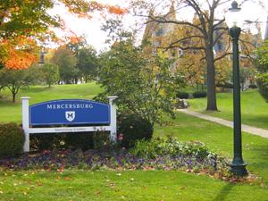 Entrance to Mercersburg Academy