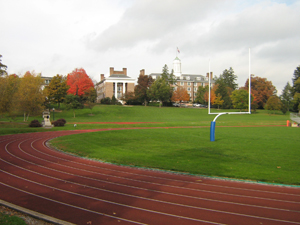 Track and sports field