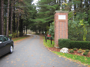 Long entryway to Middlesex