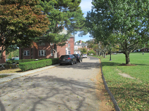 Small campus roadway