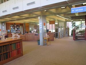 Inside Milton's library