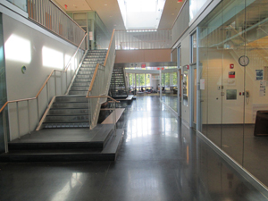 Inside the Science Hall