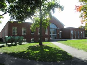 The Milton Academy theater