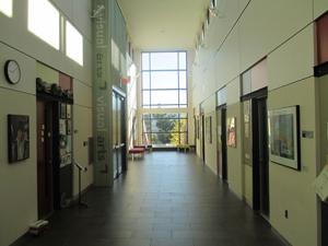 Corridor of the Arts building