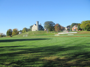 Scenic view of the campus