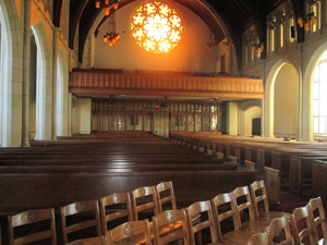 The campus chapel