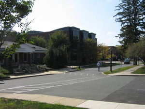 The Health Services building