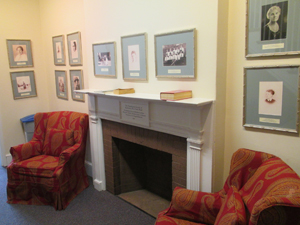 Inside Admissions office