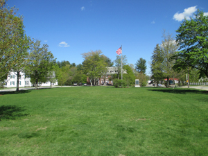 Campus green space