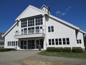 A classroom building