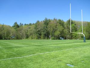 The sports field