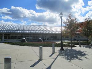 The Salisbury Arts building