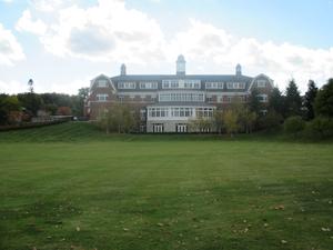 The majestic campus landscape