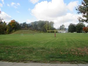 The school sports field